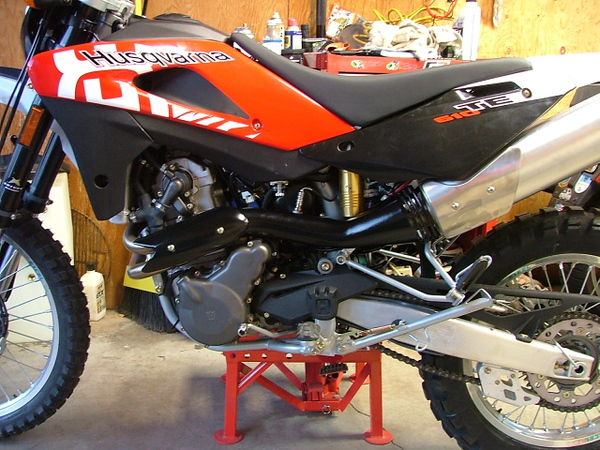 2008 Husqvarna Sports Motorcycle
